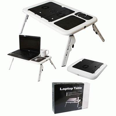 MEJA LAPTOP COOLING PAD E-TABLE