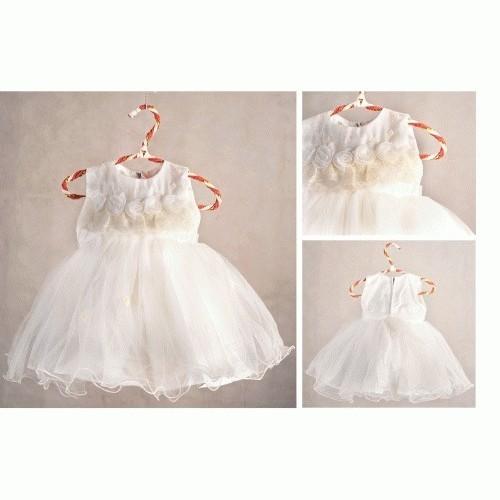 Jual Gaun Pesta Bayi 1 Tahun 242 Lace Rose Dress