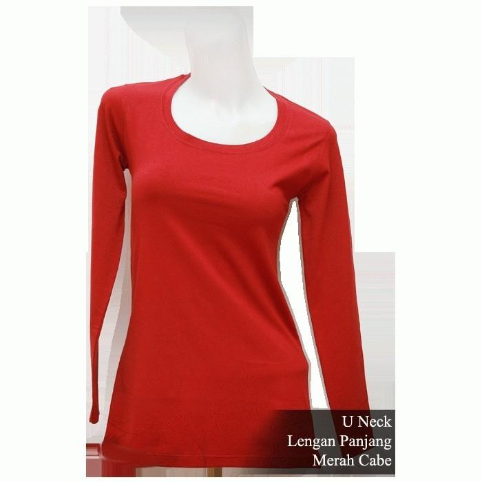Kaos Polos T Shirt Warna Merah Cabe - Daftar Harga Terkini Indonesia 708cdb5cf0