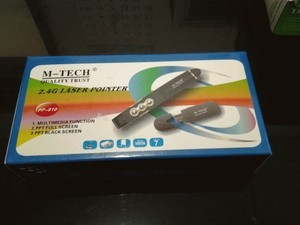 harga Laser pointer + remote multimedia (powerpoint) m-tech Tokopedia.com