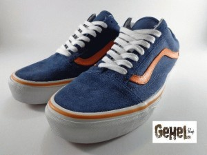 Jual VANS Old Skool 2Tone Blue-Orange Original GSI - GehelShop ... cd7425a38