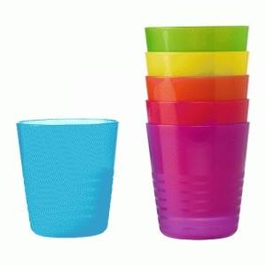 Ikea kalas - seri 6 gelas unik yang colorful