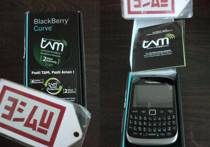 BlackBerry 9320 Curve 3G Amstrong + Bonus Capdase ALUMOR   Hitam & Garansi Resmi RIM 2 thn (SS/TAM/TRIKOM)