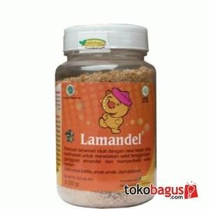 Lamandel - obat herbal amandel 200gr .