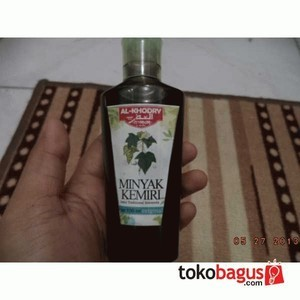 jual minyak kemiri al-khodry premium 100ml original; menghitamkan Cara Buat Minyak Kemiri Untuk Bayi