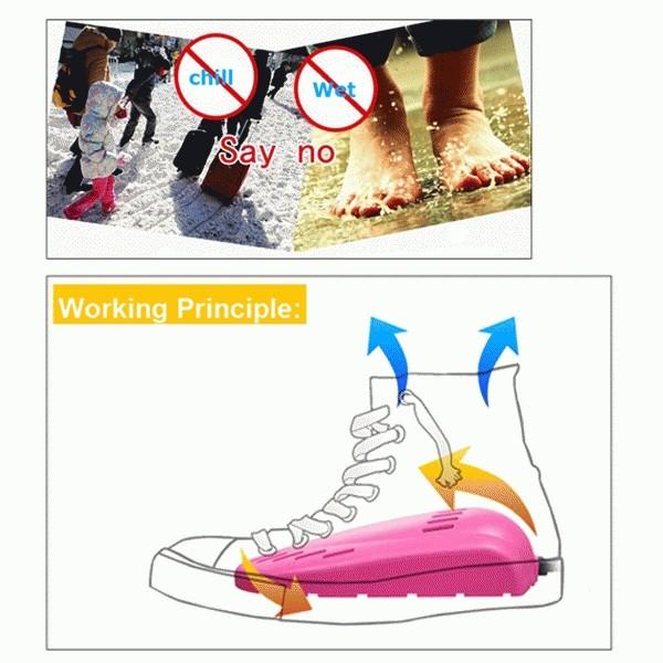 Portable Electric Shoes Dryer / Shoes Dryer (Alat Pengering .