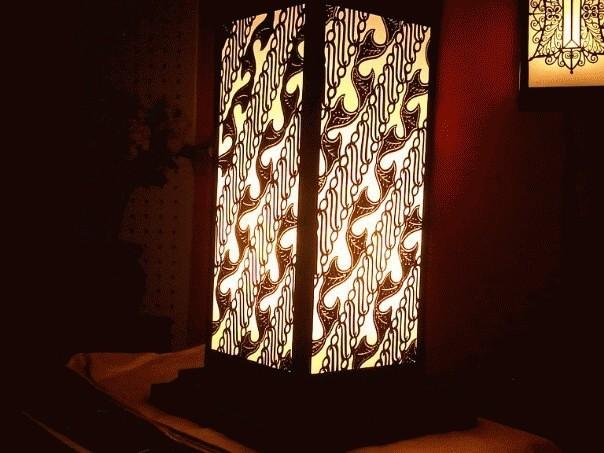 Jual Lampu Hias Batik / Standing atau Lampu Duduk ( Meja ...