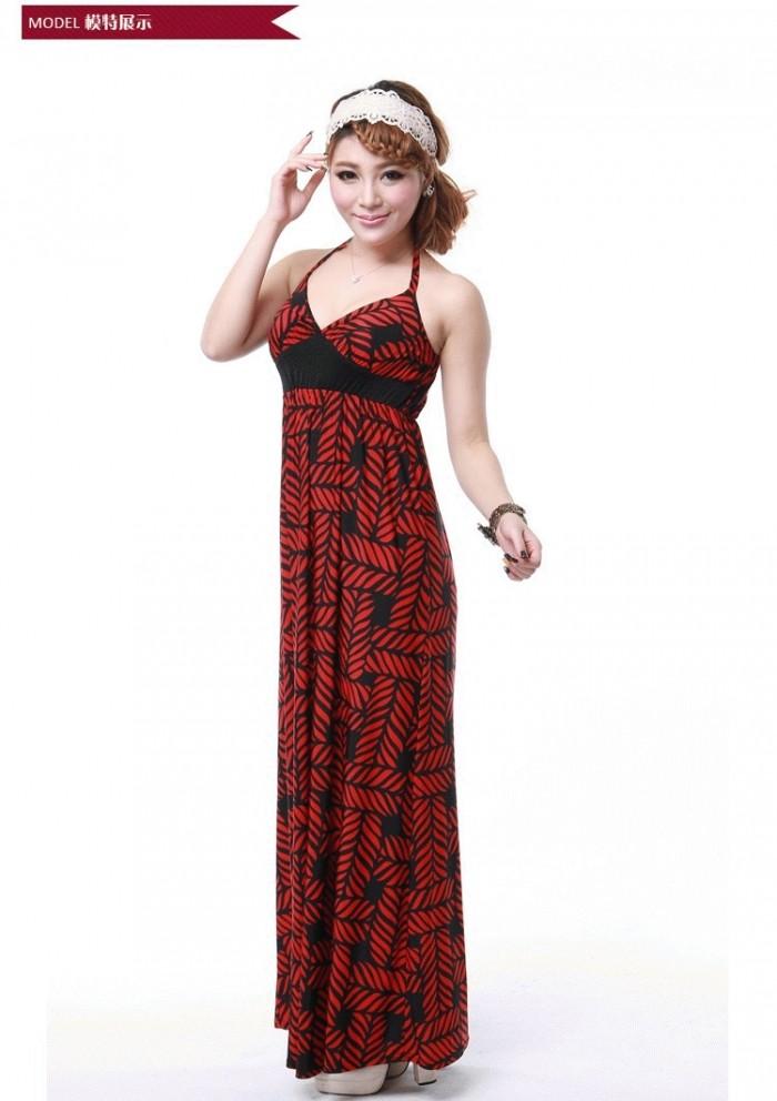harga Bohemian dress - tpd8113red Tokopedia.com