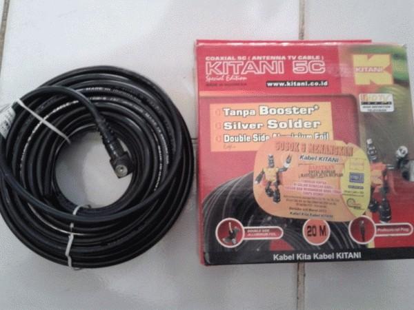 harga Kabel antena tv kitani 20m Tokopedia.com