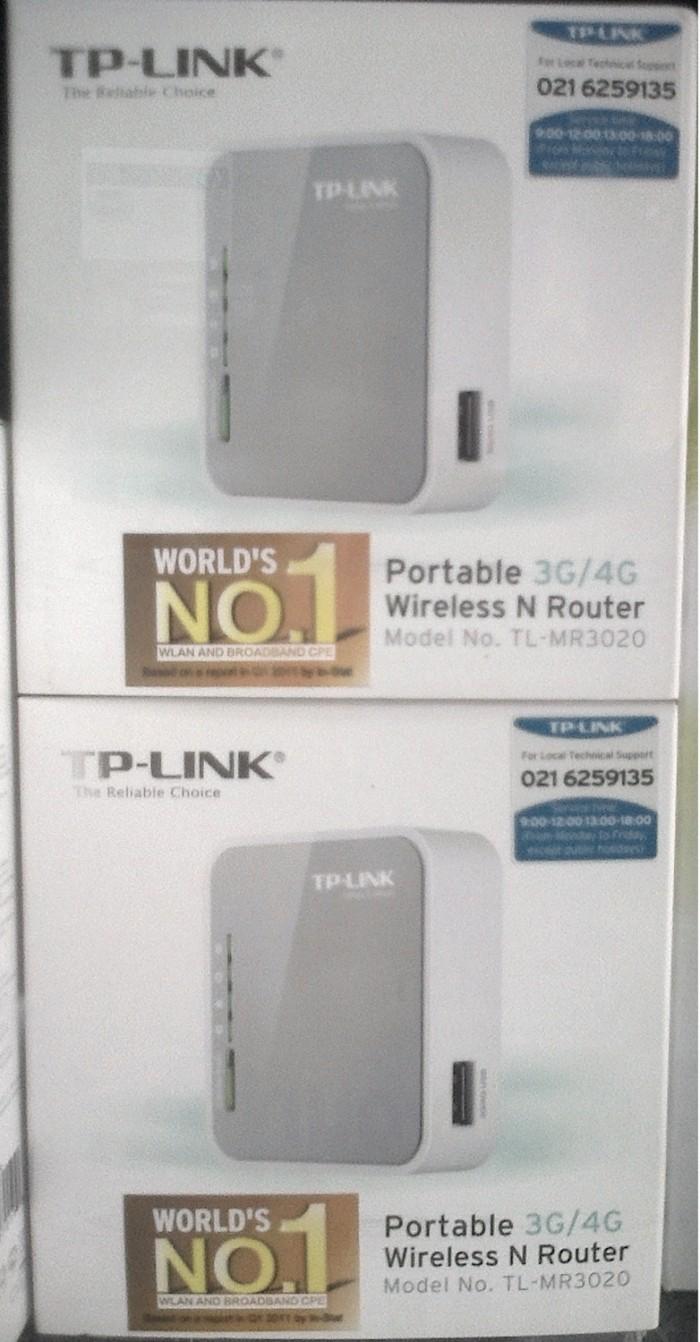 Jual TP - Link Portable Wireless and Router TL- MR 3020 3G/4G  GSM/ CDMA  Available - Kota Cirebon - Digital Cosmo | Tokopedia