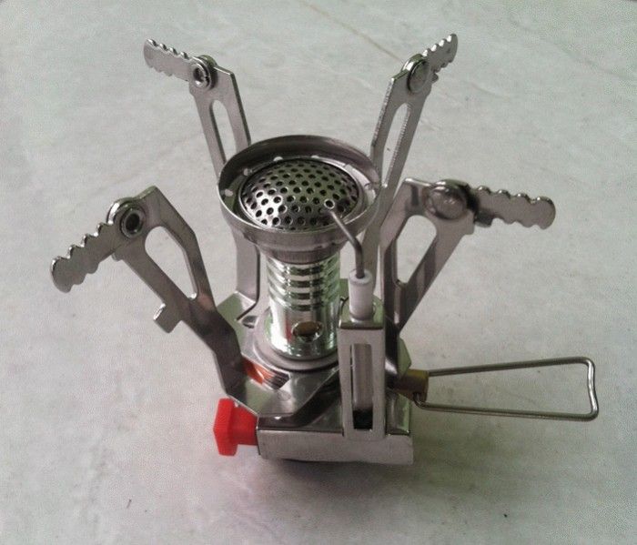 harga Kompor kemping bahan bakar gas - outdoor camping stove gas-powered cooker picnic burner stove portable case Tokopedia.com