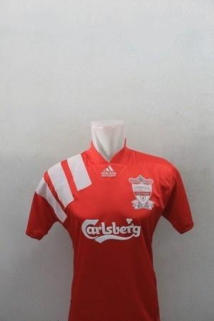 low priced 2b52a 24852 Jual jersey liverpool home cente cek harga di PriceArea.com