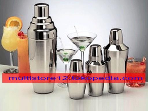 harga Cocktail shaker stainless 750cc Tokopedia.com