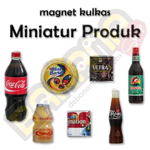 harga Magnet kulkas - miniatur produk (paket 3) Tokopedia.com