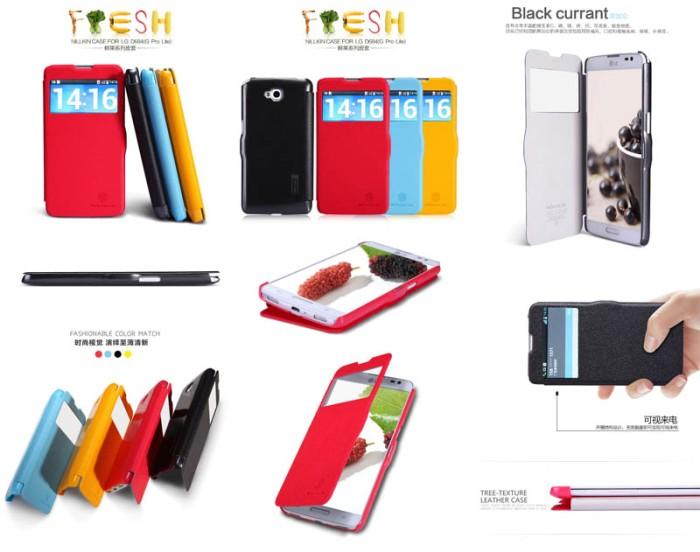 san francisco ff48e 9e15e Jual jual Nillkin Fresh Window leather flip cover Case LG G Pro Lite D686 -  DKI Jakarta - Forsakey Gadget Acc | Tokopedia