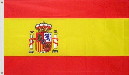 Bendera Nasional Spain Spanyol