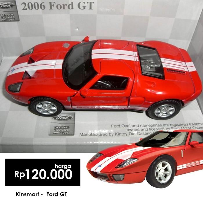 Miniatur Mobil Ford Gt