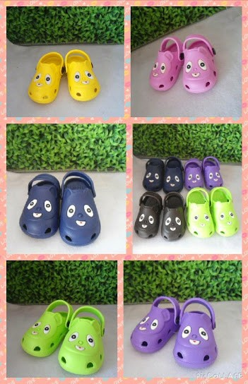 harga Sepatu sandal anak model crocs mata Tokopedia.com