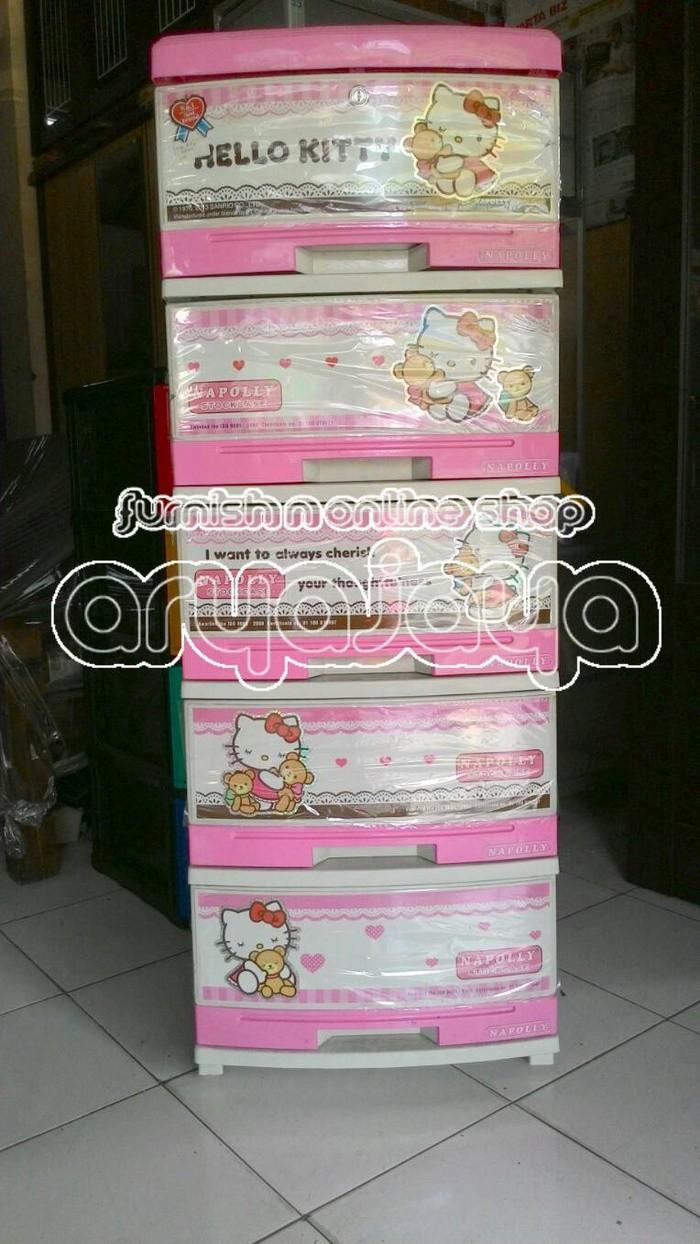 Jual Lemari Plastik Hello Kitty Cek Harga Di PriceAreacom
