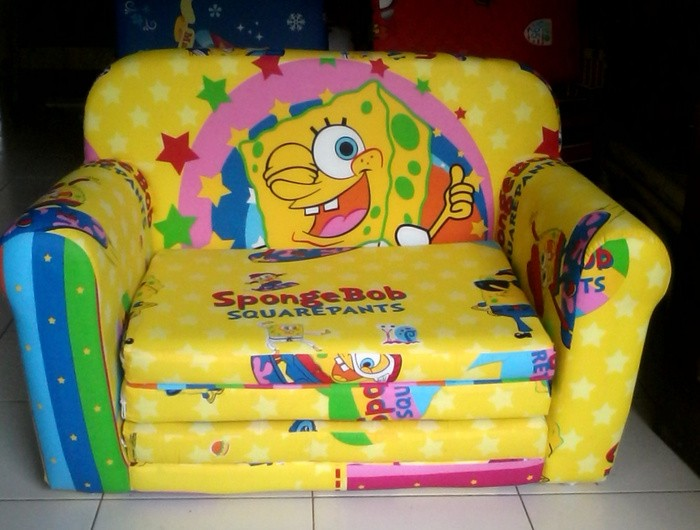 Spongebob Sofa Bed Spongebob Squarepants Flip Sofa Thesofa