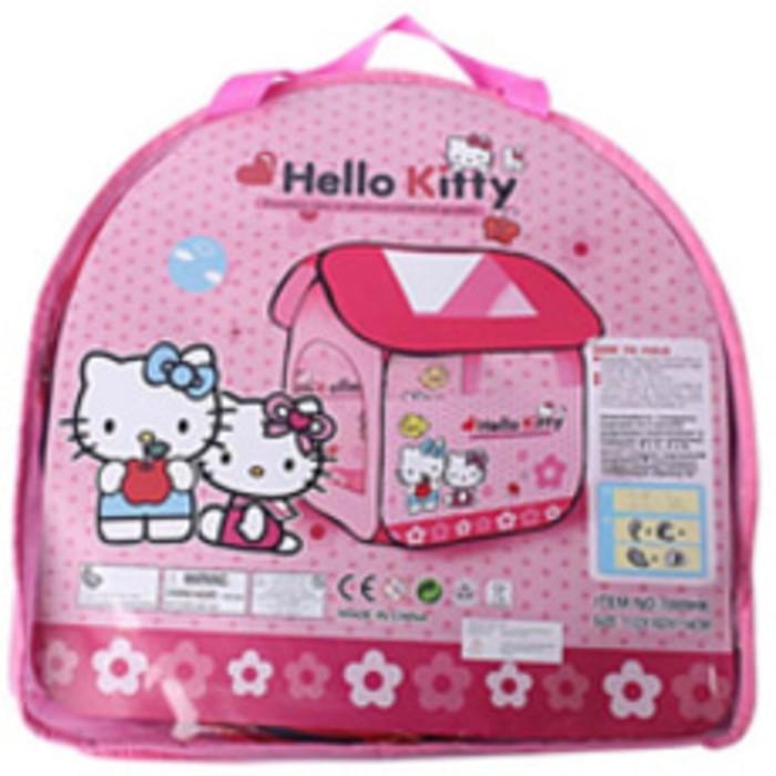 harga Tenda rumah anak karakter hello kitty ( besar ) Tokopedia.com