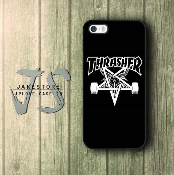 harga Thrasher skateboard iphone case dc vans casing type 4 4s 5 5s 5c hp Tokopedia.com