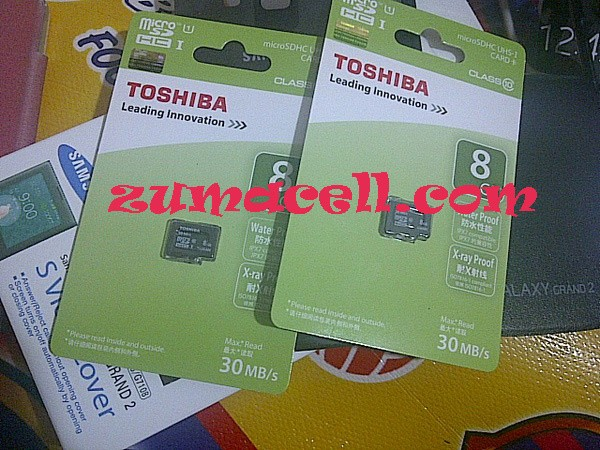 memory micro sd card toshiba 8gb class 10 uhc high speed include adapt