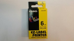harga Pita label printer casio 6mm Tokopedia.com