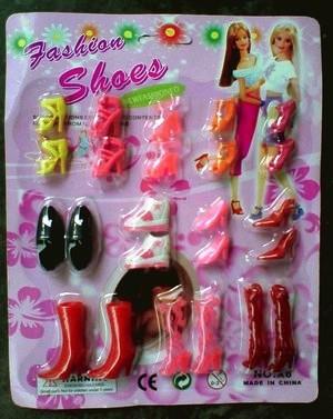 harga Mainan sepatu boneka barbie set 12 pcs ( jum ) Tokopedia.com