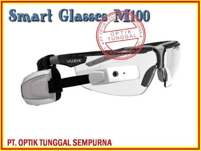 Jual KACAMATA TEMBUS PANDANG Tipe SMART Glasses M100 Harga Rp. 5.900 ... 8beb06d43b
