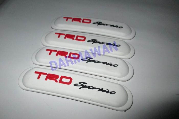 Door guard/pelindung pintu mobil trd sportivo putih