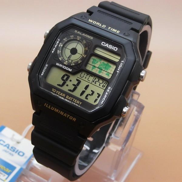 Jual Jam Tangan Casio AE1200 Original Layar gold - sylvi watch ... a3298fe2b2