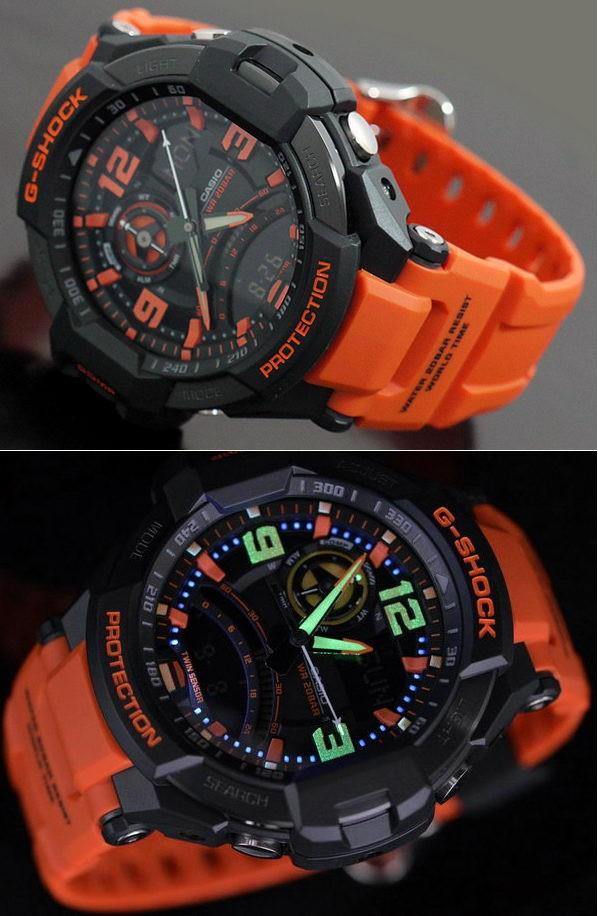 Часы Casio GA-1000-4A Часы Essence ES-D856.130