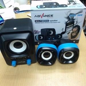 Speaker Advance Duo 300 Duo-300 aktif bisa microsd micro sd / usb