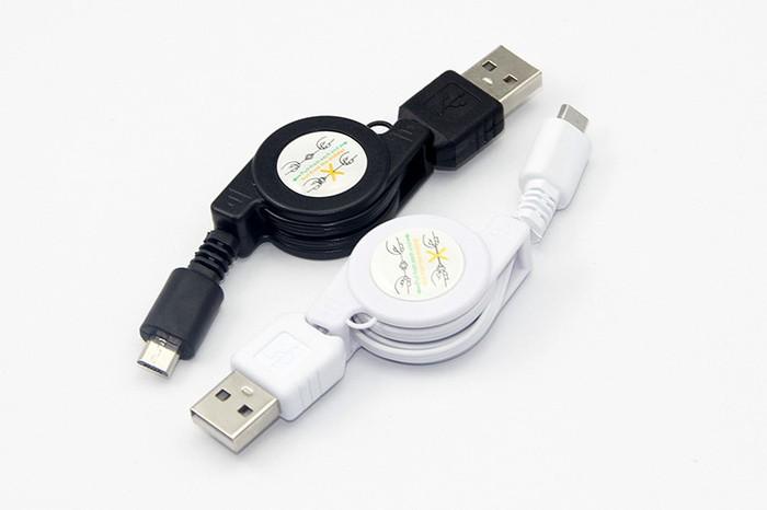 Foto Produk Kabel USB Micro yg dpt ditarik kembali ( retractable ) 70 cm for car dari Online Shop Save