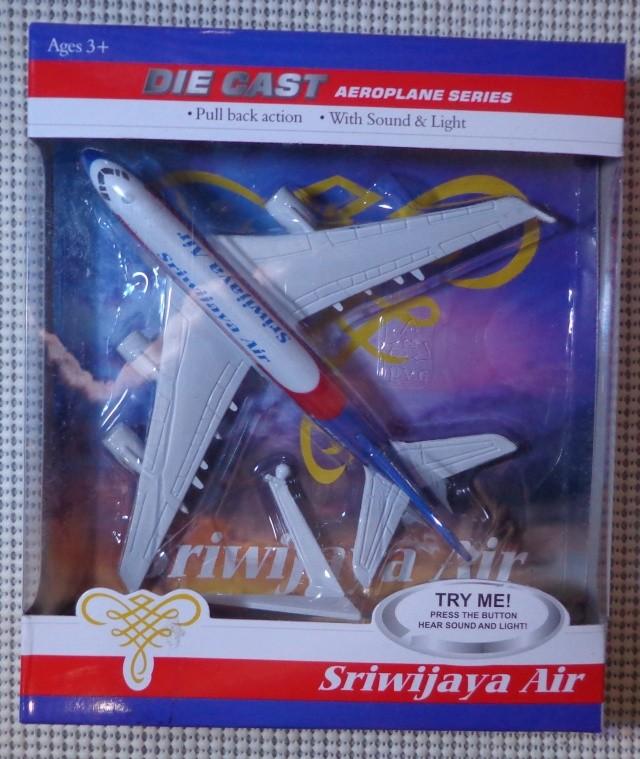 harga Miniatur pesawat terbang ( plane diecast ) : sriwijaya air Tokopedia.com