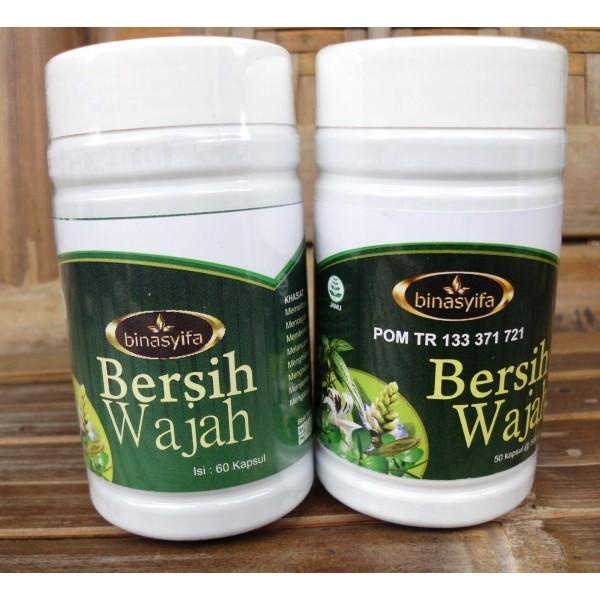 Jual Kapsul Bersih Wajah Herbal Binasyifa Obat Alergi