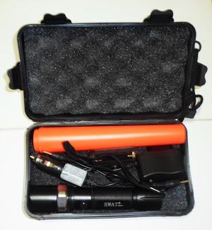 harga Senter swat police 500.000w magnet box koper + sarung + 3 mode nyala Tokopedia.com
