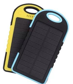 harga Power bank 5000mah solar panel dengan tenaga surya Tokopedia.com