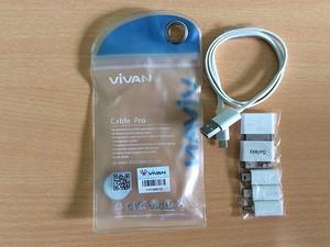 harga Kabel power bank vivan set pro with konektor iphone 5 6 ipad mini Tokopedia.com