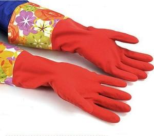 harga Sarung tangan karet motif bunga (47cm)