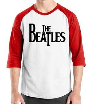 harga Kaos raglan ordinal the beatles logo Tokopedia.com