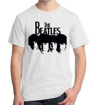 harga Kaos distro ordinal the beatles face 02 Tokopedia.com