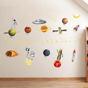 jual stiker dinding tema planet (jm8351) - kota depok - toko