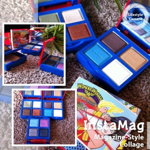 bd32397bf Jual MAC kosmetik pallete Wonder Woman 4 eyeshadow + 1 bedak powder ...