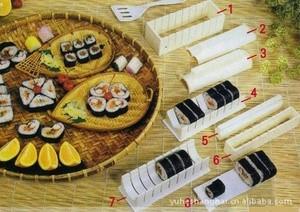 ... harga White sushi mold maker - alat cetakan nasi bento jepang set lengkap Tokopedia.com