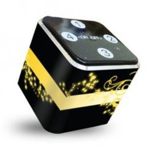Foto Produk theKube2 Mp3 Player 4Gb Touchpad Blossom Wind Yellow Skin Edition dari Stevi Shop