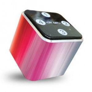 Foto Produk theKube2 Mp3 Player 4Gb Touchpad MY RAID RAINBOW Skin Edition dari Stevi Shop
