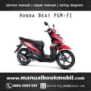 Jual service manual honda beat pgm fi service manual center service manual honda beat pgm fi asfbconference2016 Images