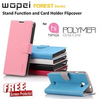 Flipcover HIMAX Polymer Octa Core : WOPEI Stand Function Card Holder